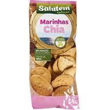 Biscoitos Marinhas Chia Salutem