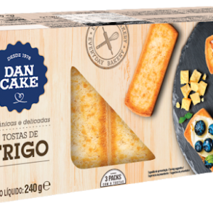Tostas de trigo Dan Cake 240g